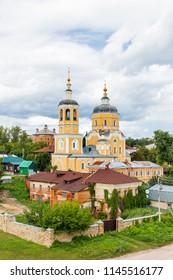 Church Of Elijah The Prophet, medieval orthodox church in Serpukhov, Moscow region, Russia.