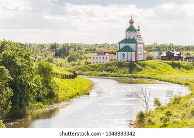 Church of Elijah the Prophet on Ivanova mountain or Elias Church - Orthodox church in Suzdal