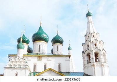 Church of Elijah the Prophet in Yaroslavl, Russia. UNESCO World Heritage Site.