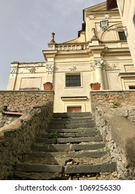 Church in the end of the steps