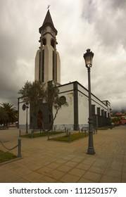 Church of Ermita Nuestra Senora de Bonanza, town of El Paso, La Palma, Canary islands