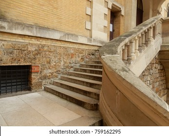 Church Exterior Stairs
