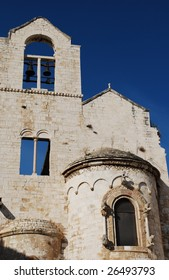 Church Facade and Bells, Trani, Apulia, Italy