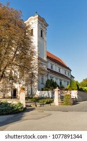 Church of the Franciscan Monastery in Presov, Slovakia. Presov is a city in Eastern Slovakia.