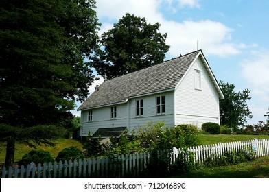 Church of the Frescoes in Glendale Springs North Carolina
