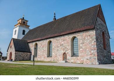 Church at Gammelstad Lulea, Sweden