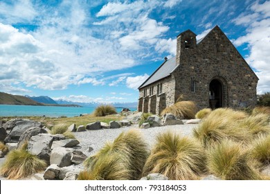 Church of the Good Shepherd ,Lake Tekapo ,South Island New Zealand