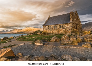 Church of the Good Shepherd, New Zealand, lake Tekapo