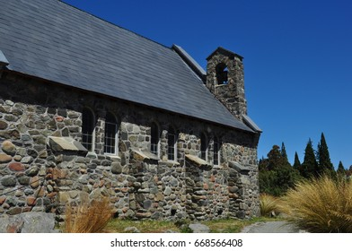 Church of the Good Shepherd in Tekapo, New Zealand