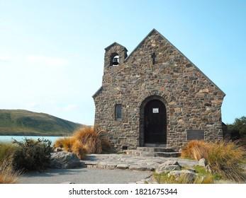 Church of the Good Shepherd in Tekapo,New Zealand