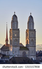 Church Grossmuenster Zurich
