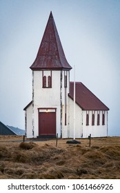 Church of Grundarfjordur town, West Iceland.ARW