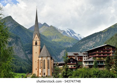 Church in Heiligenblut, Austria.