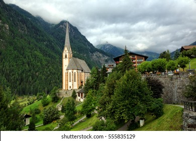 Church in Heiligenblut, Austria