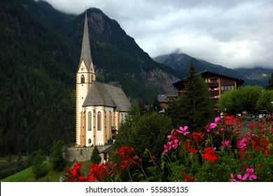 Church in Heiligenblut, Austria