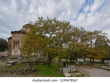 Church of the Holy Apostles next to the Stoa of Attalus