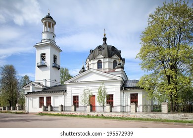 Church of the Holy Blessed Great Prince Alexander Nevsky in Ust-Izhora