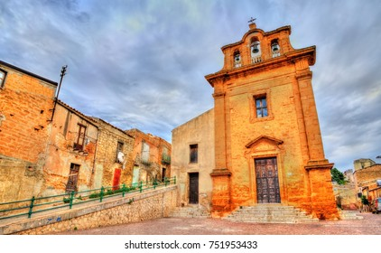 Church of the Holy Cross in Agrigento - Sicily, Italy