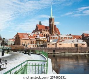 Church of the Holy Cross, Ostrow Tumski - Cathedral Island, Wroclaw, Poland