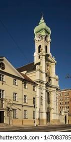Church of Holy Elizabeth with Elizabethan monastery in Bratislava. Slovakia