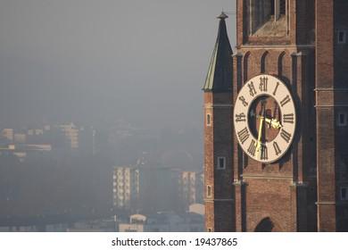 Church of holy martin (st. martin) in Landshut Germany
