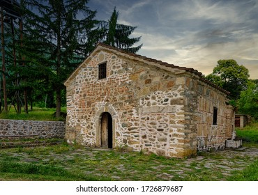 The Church of the Holy Mother of God, Leshok Monastery in Tetovo, Macedonia. It is believed that it was built at the 13th Century. It is Macedonian religious and cultural heritage.
