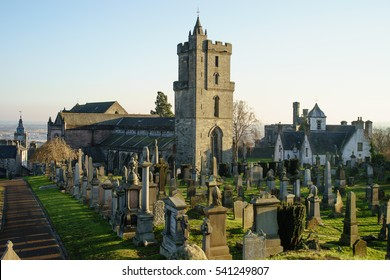 The Church of the Holy Rude, Stirling, Stirlingshire, Scotland, UK. This medieval building, adjacent to Stirling Castle, is the parish church of the city of Stirling in central Scotland.