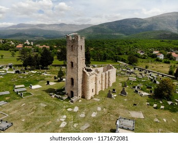 The Church of the Holy Salvation (Cro: Crkva Sv. Spasa) is a Pre-Romanesque church in Dalmatia, Croatia, close to Vrlika and spring of Cetina River.