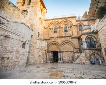 Church of the Holy Sepulcher in Jerusalem, Israel