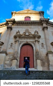 church of the holy souls in purgatory ragusa sicily italy
