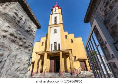 Church Holy Spirit Parish in Czarny Las - Roman Catholic parish.