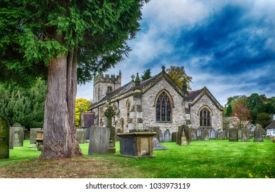 Church of the Holy Trinity, Ashford-in-the-Water, Derbyshire, England