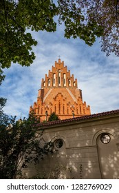 Church Of The Holy Trinity and Dominican Monastery in Krakow, Poland.