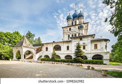 The Church of the Icon of Our Lady of Kazan in Kolomenskoye estate, Moscow
