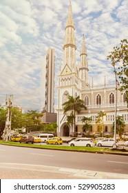 """The church """"Iglesia del Carmen"""" in Panama City"""