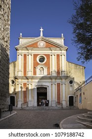 Church of the Immaculate Conception in Antibes. France
