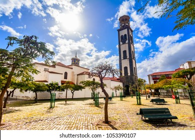 Church of the Immaculate Conception, Santa Cruz de Tenerife, Canary Islands, Spain: Beautiful church in a sunny day