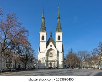 Church of the Immaculate Conception of the Virgin Mary in Ostrava, Czech Republic
