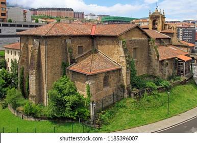 the church of incarnation in spanish city Bilbao
