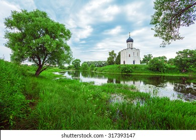 Church of the Intercession on the Nerl (1165), UNESCO heritage site, Russia