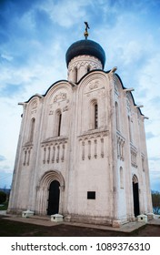 Church of the Intercession on the Nerl in Bogolubovo, Russia.
