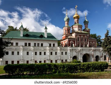 Church of the Intersession at the Novodevichy convent.