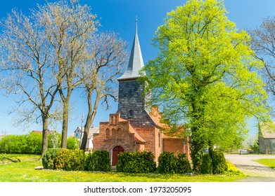 Church of the Invention of the Holy Cross in Krzywe Kolo, Poland. - Shutterstock ID 1973205095