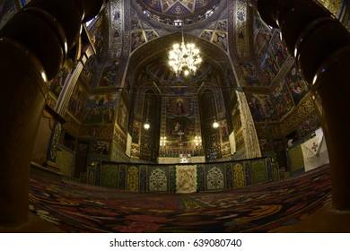 Church in Isfahan, Iran. September 14, 2016.