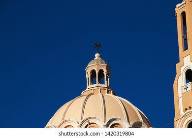 The church in Jounieh, Lebanon