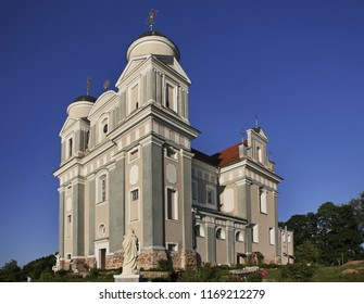 Church of Jude Thaddaeus in Luchaj. Vitebsk oblast. Belarus