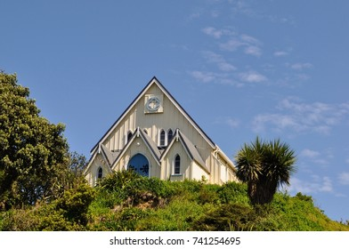 Church in Kaikoura New Zealand