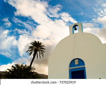 Church in Kantouni Beach,Kalymnos,Greece