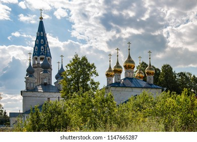 Church of the Kazan Icon of the Mother of God and the Church of the Assumption of the Blessed Virgin Mary, part of the Assumption-Kazan Monastery, village Kuznetsovo, Shuysky District, Ivanovo Region