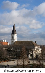 Church in Kecskemet, Hungary